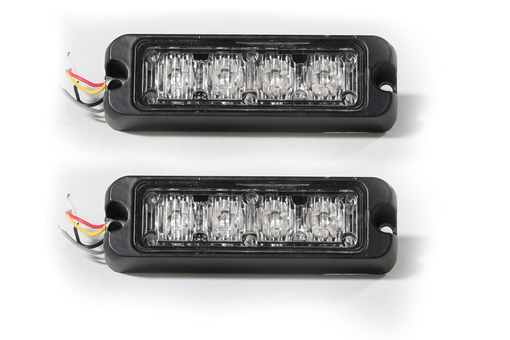Extreme Tactical Dynamics Tracer 4 TIR LED Grille and Surface Mount Light 2 Piece Multi-Pack