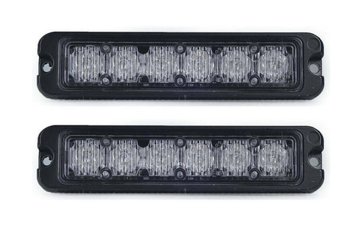Extreme Tactical Dynamics Tracer 6 TIR LED Grille and Surface mount 2 Piece Multi-Pack