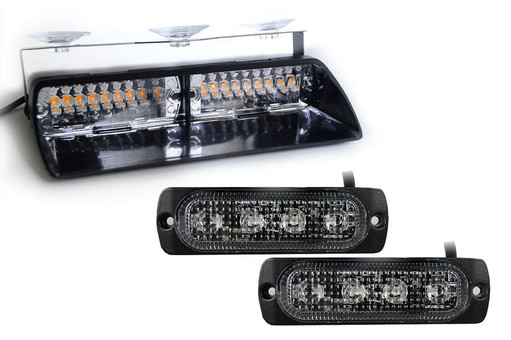 Extreme Tactical Dynamics Chaser Dash Light with Two Orion 4 Surface Mounts