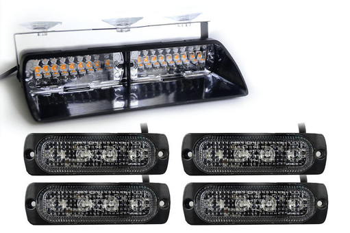 Extreme Tactical Dynamics Chaser Dash Light and Four Orion 4 Surface Mount Lights