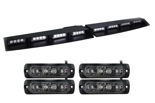 Extreme Tactical Dynamics Elemental 40 and Orion 4 TIR LED Surface Mount 4 Multi-Pack