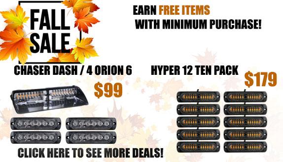 Fall Into Savings Sales Event