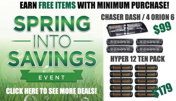 Spring Into Savings Sales Event