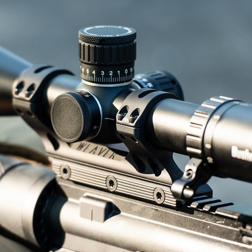 MSR Weaver Premium Modern Sporting Rifle Matte Black 34mm Mount