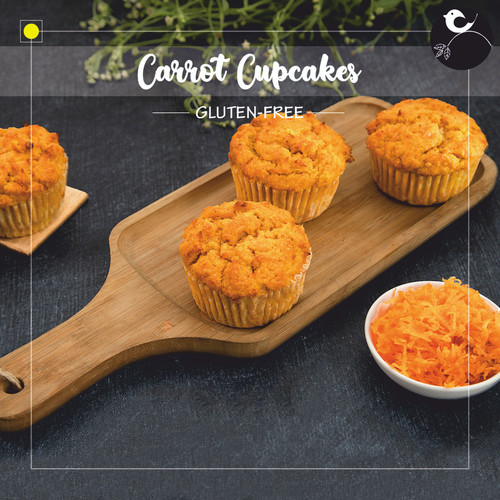 Carrot Cupcakes [GLUTEN-FREE]