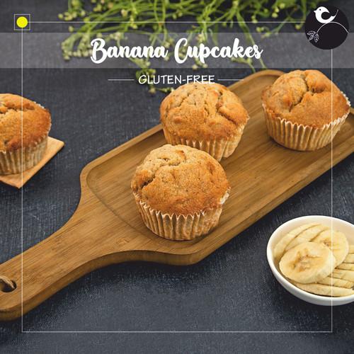 Banana Cupcakes [GLUTEN-FREE]