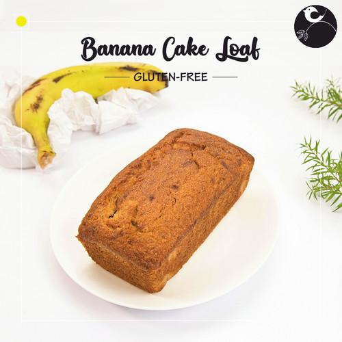 Banana Cake Loaf [GLUTEN-FREE]