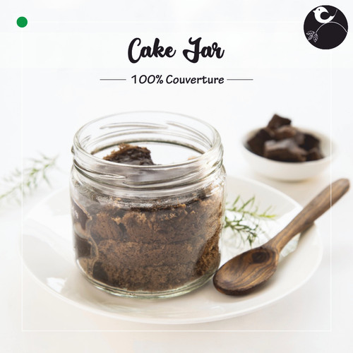 Eggless Cake Jar