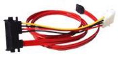 SATA 22 pin socket to 7 pin SATA  0.5M CSBP05M