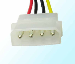 28 INCH SERIAL ATA POWER ADAPTER CABLE  Molex SATAP-28B