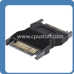 15 Pin SATA Male - Male Serial ATA Power AdapteR 15MALE2