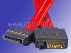 7 pin internal SATA extension cable female to male 8 inches SATAMF08I