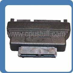 Slimline SATA Female To 22 Pin Sata Male Adapter