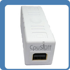 Mini DisplayPort Coupler Female to Female Straight