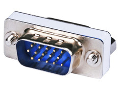 HD15 HD VGA SVGA Female Male Mini Gender Changer Port Saver 15 Pin