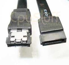 ESATA TO SATA CABLE 18 INCHES BLACK CABLE CS6607-18IBK