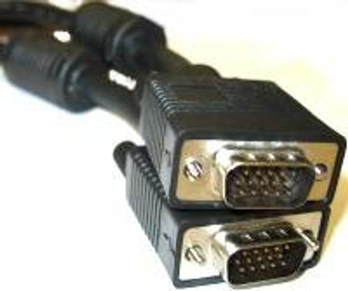 15FT SVGA Super VGA M/M Monitor Cable w/ ferrites