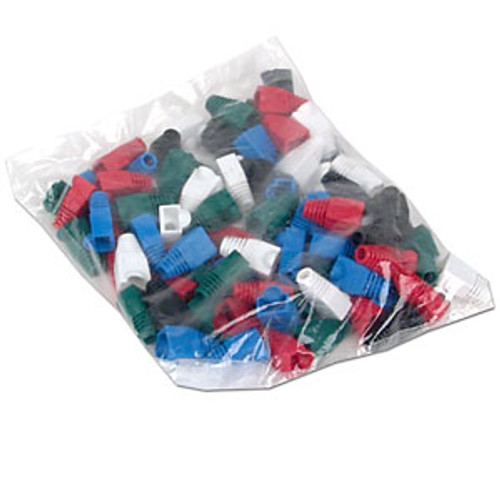 Slip-on Color Boots for RJ-45 Connector - 50 Piece [SS-50CT5-COVER-N]