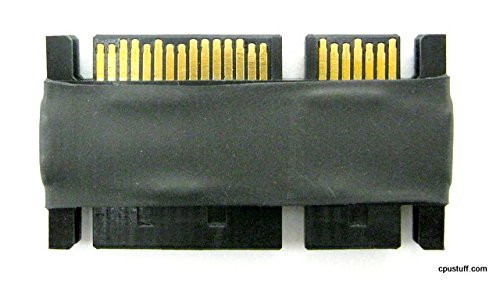 SATA 22 Pin Male - Male Serial ATA Data and Power Adapter 22MALE2