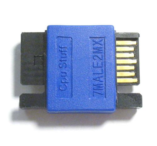 SATA male to male adapter 7 pin or SATA coupler