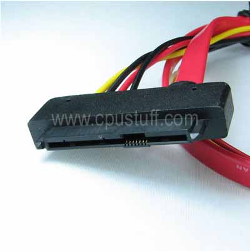 SAS 29-Pin to 22 Pin Male SATA Cable 29SAS22SATAM05