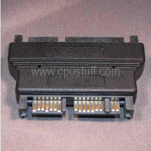 Micro SATA Adapter - Output 3.3 Volts - MicroSata Male to 22 Pin Sata Male MSM22M