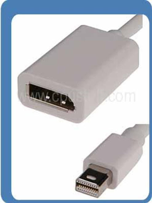 Mini DisplayPort Male to DisplayPort Female Adapter