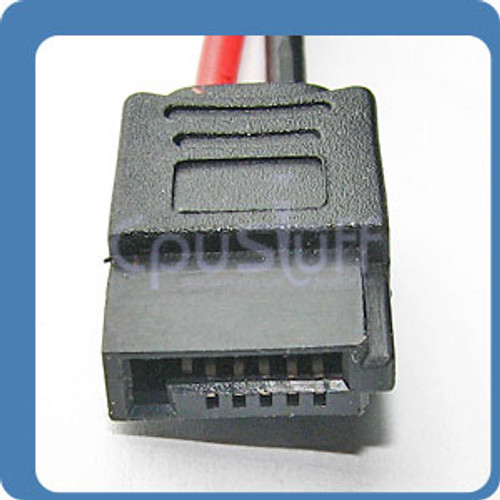 slimline Sata Power Cable With LP4 Power 6 Pin 8 Inches