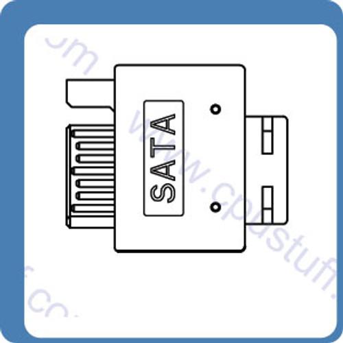 SATA Cable Male To SATA Cable Male 18 Inches