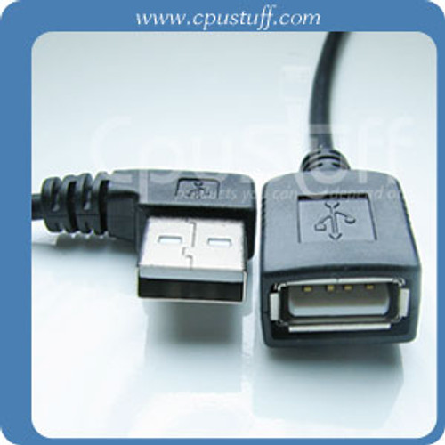 USB Left Angle Extension 24 Inches USBL24IE