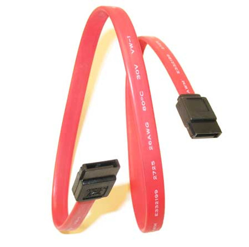 SATA Cable 6 inches Straight - Straight SATA III