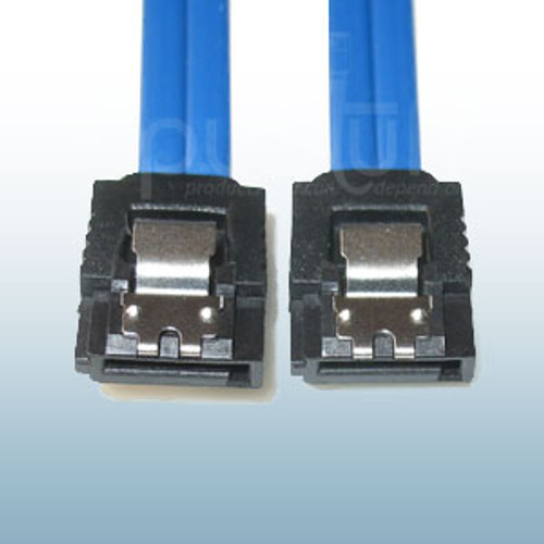 SATA Cable Straight to Straight with latch 24 inches.