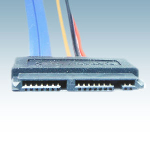 Micro SATA Female To 22 Pin SATA Male 18 Inches