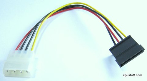 12 inch SATA power cable 15 pin - 4 pin