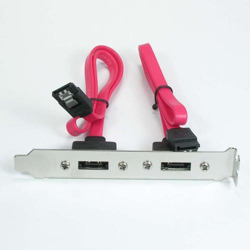 ESATA on bracket to Latching SATA 7 Pin