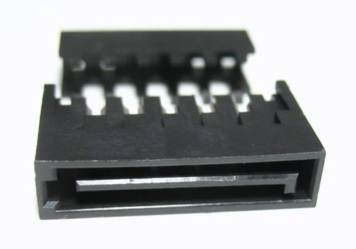 sata power male connector 15 pin IDC or crimp on.