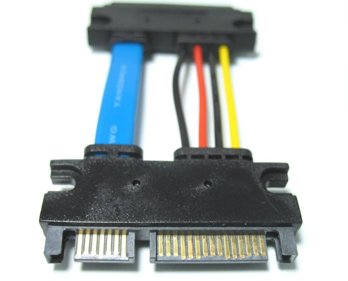 22 sata cable assembly extension