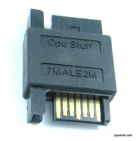 7 Pin Sata Male Adapter Or SATA Coupler