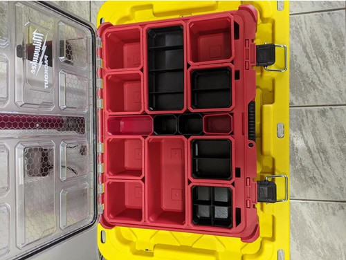Milwaukee Packout Organiser Nesting Bins Large (Rectangle)