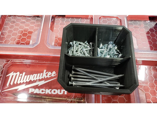 Milwaukee Packout Slim Organiser Replacement Bins