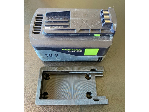 Festool 18v Battery Mounts