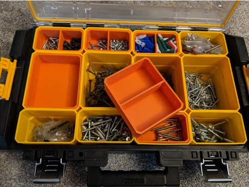 Dewalt ToughSystem Version 1.0 Organiser Nesting Cups / Inserts