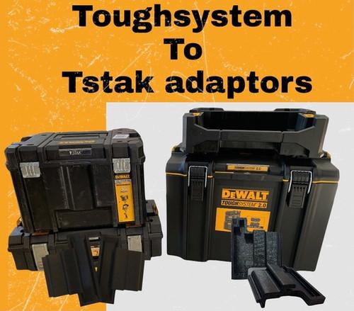 Tough2T Adapter Brackets  (Pair)