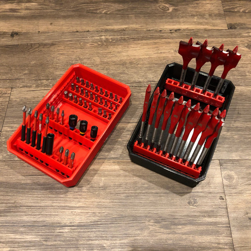 Milwaukee Packout Drawers Bit Holders