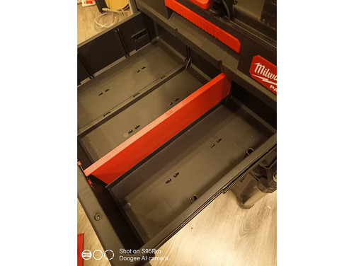 Milwaukee Packout 3 Drawer Heavy Duty Dividers (Pair)