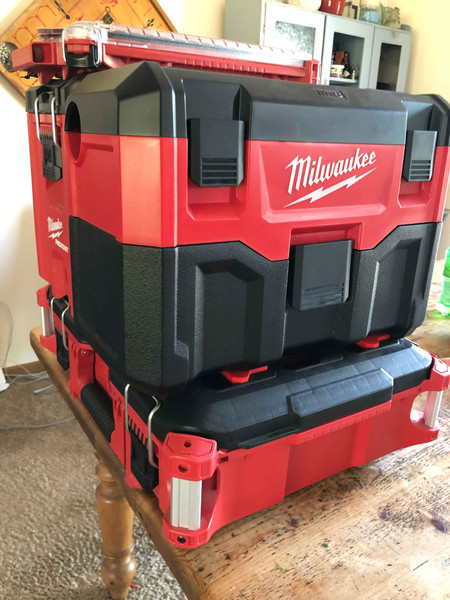 Milwaukee Vac Packout Feet