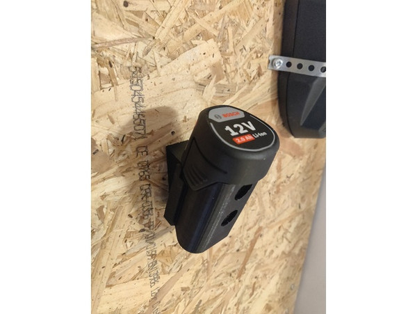 Bosch Battery Mounts 18v & 12v