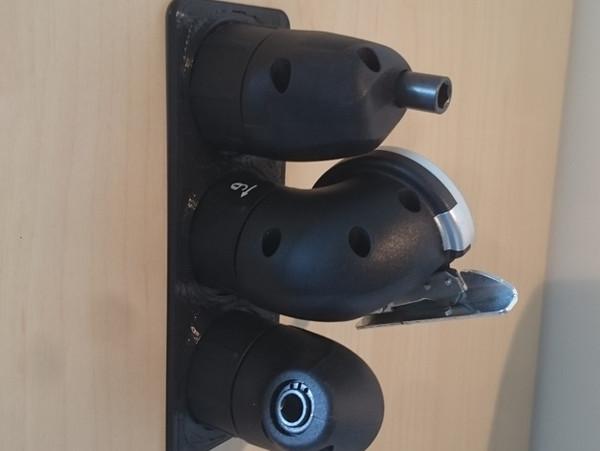 Bosch IXO Multi Head Tool Holder Wall Mount