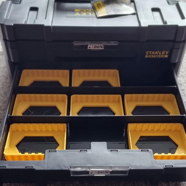 DeWalt Tstak / Stanley Pro-Stack Drawer Bit Bins