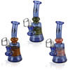 Pulsar Worked Bell Swirl Oil Rig - 6.5"
